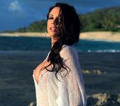 Chanel Preston Masturbating on the Beach 5