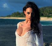 Chanel Preston Masturbating on the Beach 6