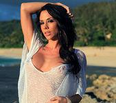 Chanel Preston Masturbating on the Beach 7