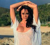 Chanel Preston Masturbating on the Beach 10