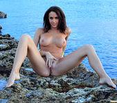 Chanel Preston Masturbating on the Beach 30