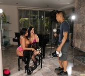 Eva Angelina and Tory Lane in an Anal Threesome 15