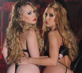Kagney Linn Karter and Amy Brooke Get Nasty in the Dungeon 9