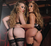 Kagney Linn Karter and Amy Brooke Get Nasty in the Dungeon 10