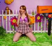 Marie McCray Being Naughty in the Yard 21