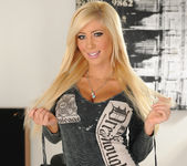 Tasha Reign Wearing Nothing but Thigh-High Boots 2