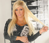 Tasha Reign Wearing Nothing but Thigh-High Boots 3