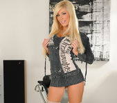 Tasha Reign Wearing Nothing but Thigh-High Boots 4