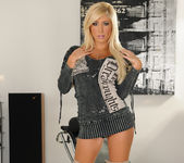 Tasha Reign Wearing Nothing but Thigh-High Boots 5