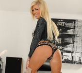 Tasha Reign Wearing Nothing but Thigh-High Boots 12