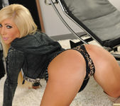 Tasha Reign Wearing Nothing but Thigh-High Boots 17