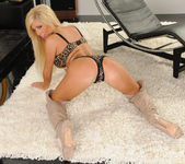 Tasha Reign Wearing Nothing but Thigh-High Boots 24