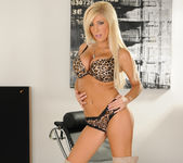 Tasha Reign Wearing Nothing but Thigh-High Boots 26