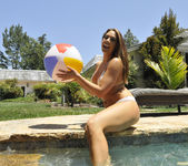 Chanel Preston Tits and Beach Ball 5