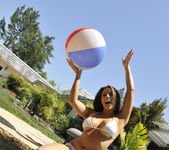 Chanel Preston Tits and Beach Ball 6