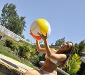 Chanel Preston Tits and Beach Ball 7