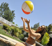 Chanel Preston Tits and Beach Ball 8