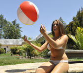 Chanel Preston Tits and Beach Ball 11