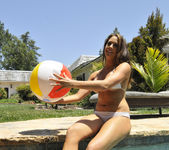 Chanel Preston Tits and Beach Ball 12