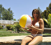 Chanel Preston Tits and Beach Ball 13
