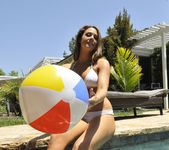 Chanel Preston Tits and Beach Ball 15