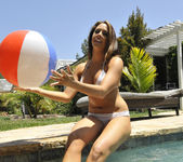 Chanel Preston Tits and Beach Ball 16