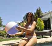 Chanel Preston Tits and Beach Ball 17