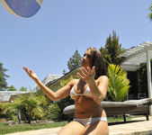 Chanel Preston Tits and Beach Ball 18