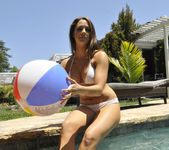 Chanel Preston Tits and Beach Ball 20