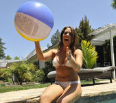 Chanel Preston Tits and Beach Ball 22