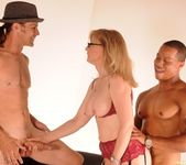 Nina Hartley Gets a 2 on 1 10