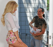 Tasha Reign Dressed Like She's Expecting a Package 5