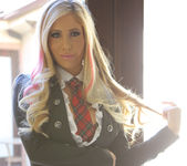Tasha Reign Loves Her Naughty Uniform 6