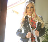 Tasha Reign Loves Her Naughty Uniform 12