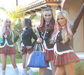 Tasha Reign Breaking the Rules with Capri Anderson, Heather 5