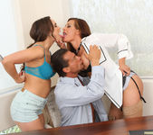 Teal Conrad and Tory Lane Get Him Done 13
