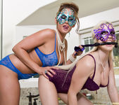 Tory Lane and Christie Stevens - Masked Mistress 12