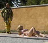 Sarah Vandella Fucks the Uniform Off a Fireman 5