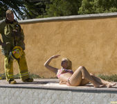 Sarah Vandella Fucks the Uniform Off a Fireman 6