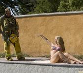 Sarah Vandella Fucks the Uniform Off a Fireman 7