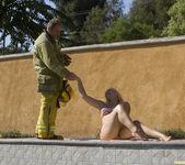 Sarah Vandella Fucks the Uniform Off a Fireman 8