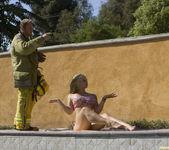 Sarah Vandella Fucks the Uniform Off a Fireman 10