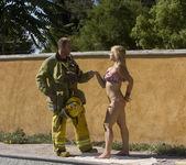 Sarah Vandella Fucks the Uniform Off a Fireman 12