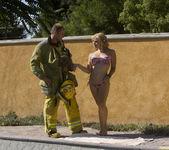 Sarah Vandella Fucks the Uniform Off a Fireman 13