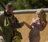 Sarah Vandella Fucks the Uniform Off a Fireman 14