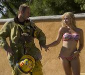 Sarah Vandella Fucks the Uniform Off a Fireman 15