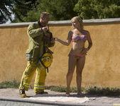 Sarah Vandella Fucks the Uniform Off a Fireman 16