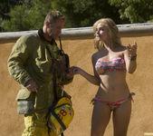 Sarah Vandella Fucks the Uniform Off a Fireman 17
