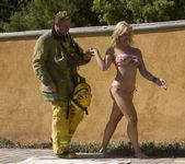 Sarah Vandella Fucks the Uniform Off a Fireman 18