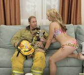 Sarah Vandella Fucks the Uniform Off a Fireman 21